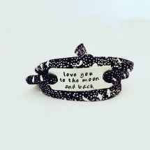 Love you to the moon and back armband