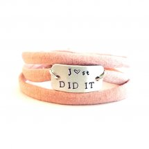 J♡st DID IT armband