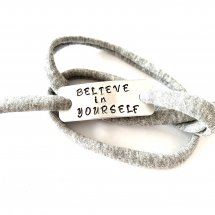 BELIEVE IN YOURSELF armband