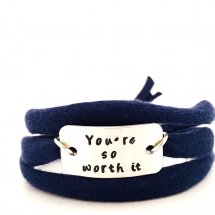 You're so worth it armband