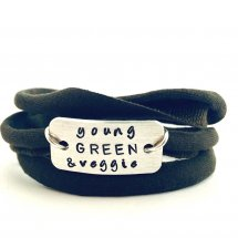 Young green & veggie armband