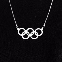Olympische ketting armband