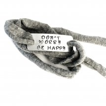Don't Worry be happy armband