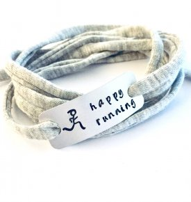 Happy running armband