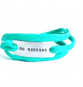 no excuses armband