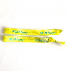2x Run happy armband