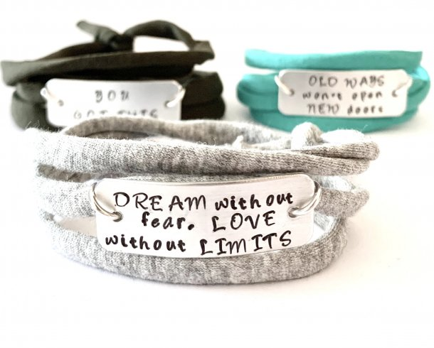Bestel de Dream without fear, love without limits armband