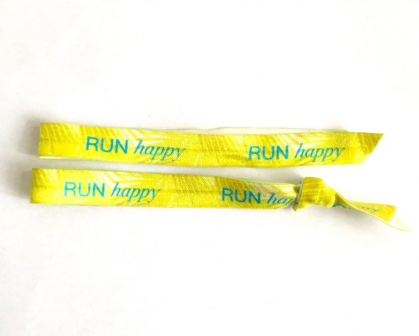 Bestel de 2x Run happy armband