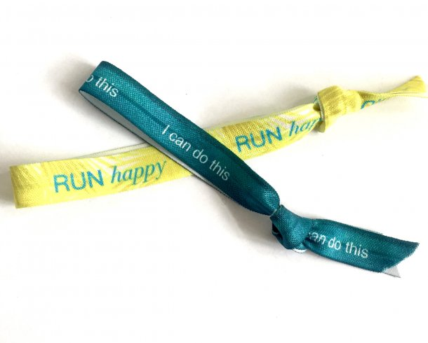 Bestel de I can do this en Run happy armband
